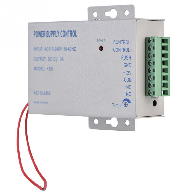 Image 4 - Input AC 110V 240V Output DC 12V 3A 30W Power Supply Controller for Door Access Control System Tools-in Switching Power Supply from Home Improvement