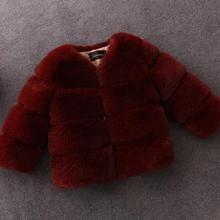 Леопардовое пальто с искусственным мехом и поясом для малышей; зимняя теплая куртка для девочек; зимний комбинезон; Верхняя одежда для детей; зимняя одежда