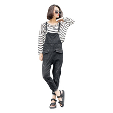 Denim Rompers Womens Jumpsuit Jeans Overalls Elegant Suspender Denim Overalls Women Slim Elegant Sexy Jumpsuit 2017