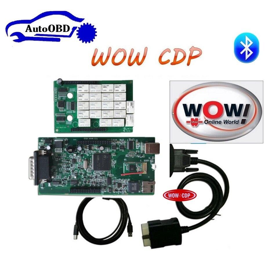 Prix pour Nec RELAIS Date WOW CDP SNOOPER Bluetooth avec la boîte nouveau apparence v5.008 R2 version livraison active VD TCS CDP pro plus