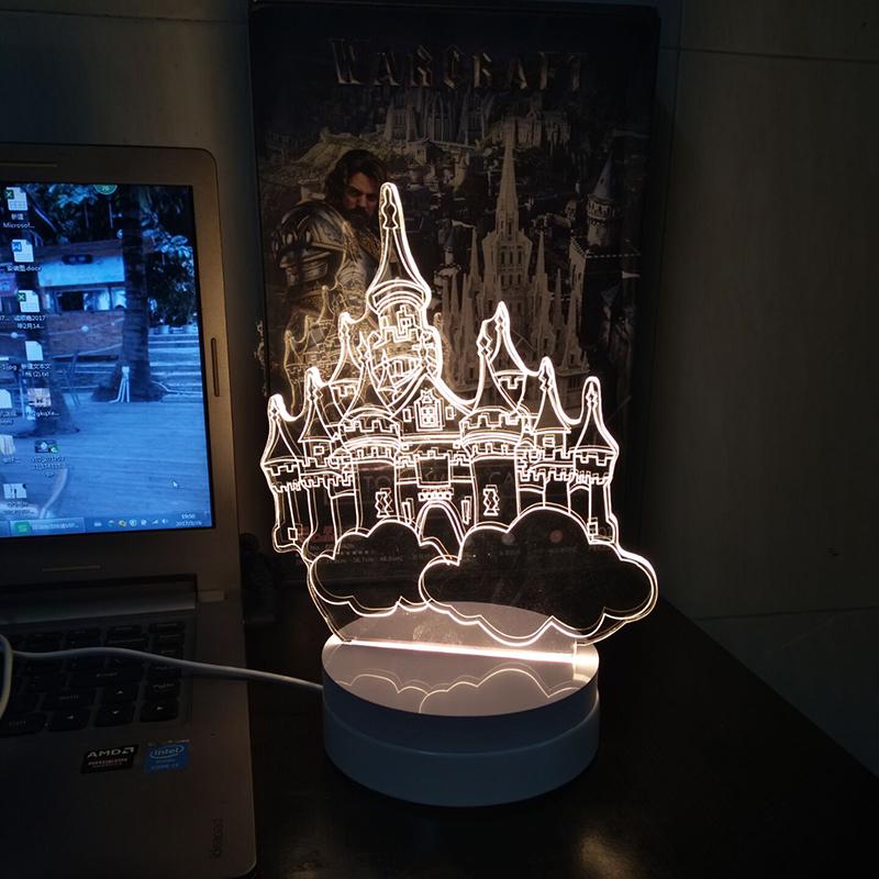 ajustable de moda led lmpara de escritorio lmparas de mesa pequea luz de la noche iluminacin hight brillo blanco y amarillo