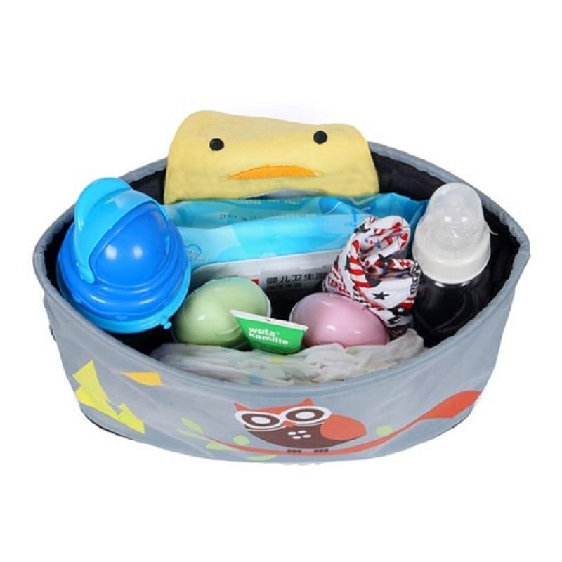 Baby Stroller ორგანიზატორი Diaper Bags Mommy - ბავშვთა საქმიანობა და აქსესუარები - ფოტო 5