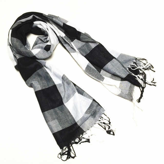 2019 New Fashion Scarf Winter Autumn Male Female Polyester Scarf Plaid  Warm Soft Spanish Brand Classic Shawl  Accessories