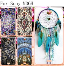 Hard Plastic Phone Cover For Sony ZR Case For Sony Xperia ZR c5503 C5502 M36h 4.6 inch Cover Housing Shell