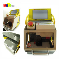 Best price original Best automatic key cutting machine SEC E9 portable smart duplicate car key cutting machine SEC E9