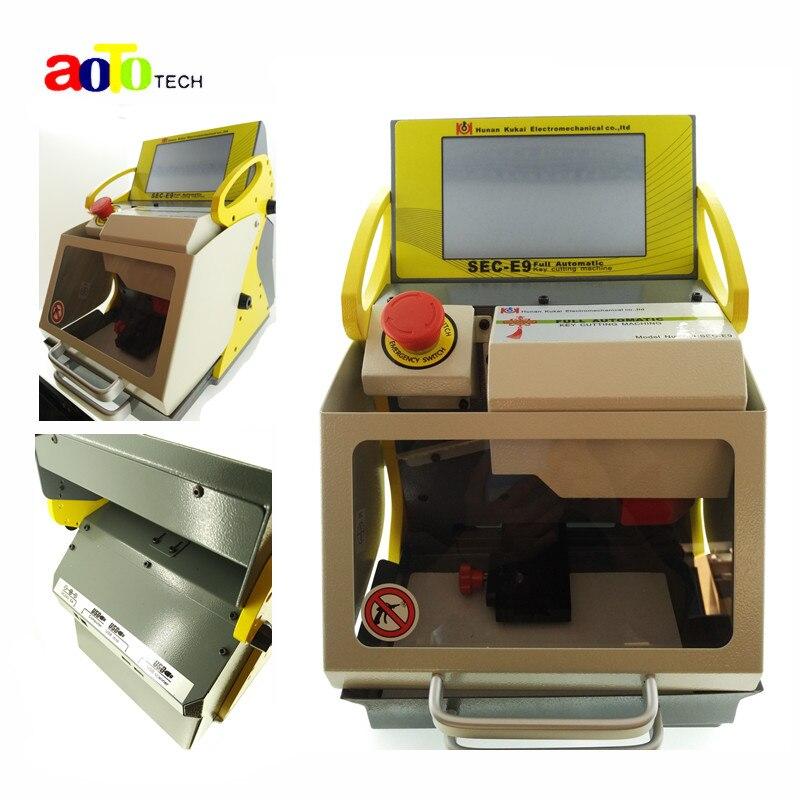 Best price original Best automatic key cutting machine SEC E9 portable smart duplicate car key cutting machine SEC E9