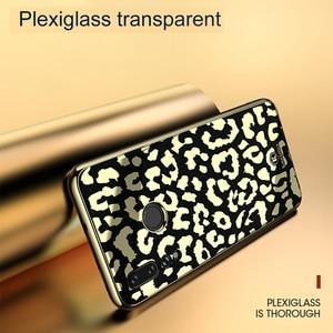 Image 5 - OTAO Plating Glass Leopard Print Case For Huawei P20 P30 Pro Mate 20 Lite Soft TPU Edge Cases Cover For Huawei Nova 4 3 3i Coque