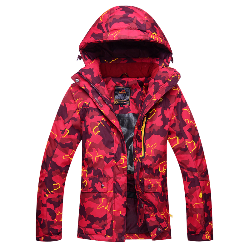 Women Snow Jackets outdoor sports skiing coats snowboarding clothing -30 winter waterproof windproof garment ski jacket female dropshipping 2015 rossignol winter snowboarding jacket ski snow jacket women waterproof breathable windproof skiing jackets