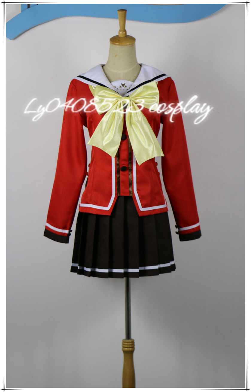 Anime Costumes Women's Costumes Objective 2016 Anime Charlotte Tomori Nao Yusa Nishimori Cosplay Costume To Make One Feel At Ease And Energetic