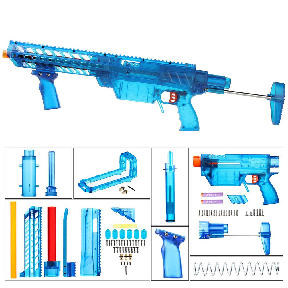 Рабочий YY-R-W004/YY-R-W005 RMCX стиль мод наборы набор для Nerf N-Strike Elite Stryfe Blaster B насос Комплект Аксессуары для Игрушечного Пистолета