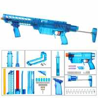 Worker YY-R-W004/YY-R-W005 RMCX Style Mod Kits Set for Nerf N-Strike Elite Stryfe Blaster B Pump Kit Toy Gun Accessories