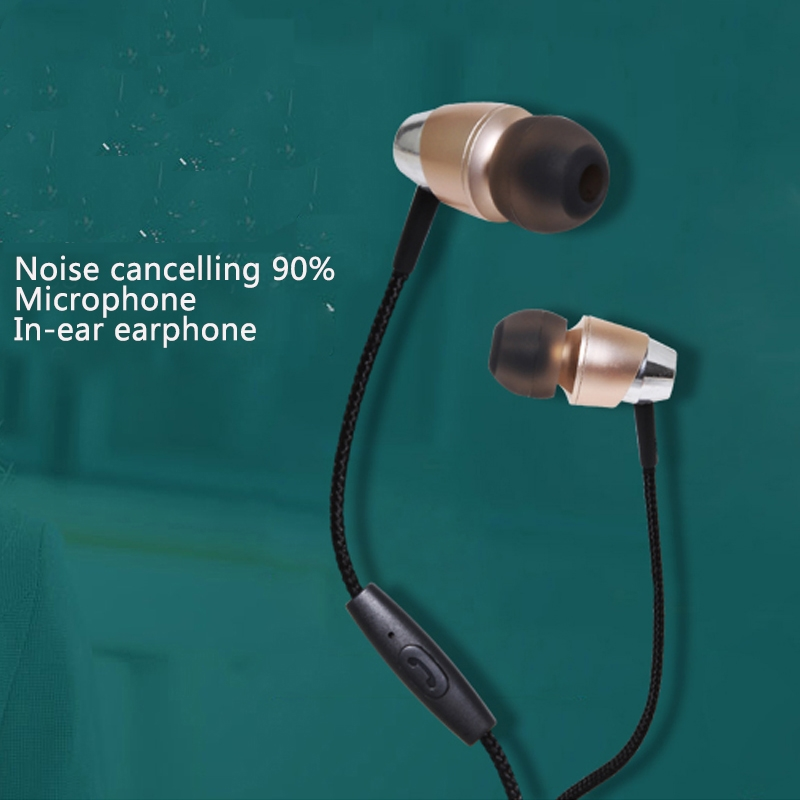 Consumer Electronics Enthusiastic Abay New Metal 1.2m Kdk-201 In-ear Sport Headphone 3.5mm Cable Headset Headset With Mp3/mp4/pc/radio/xiao Mi/hua Wei/i Phone