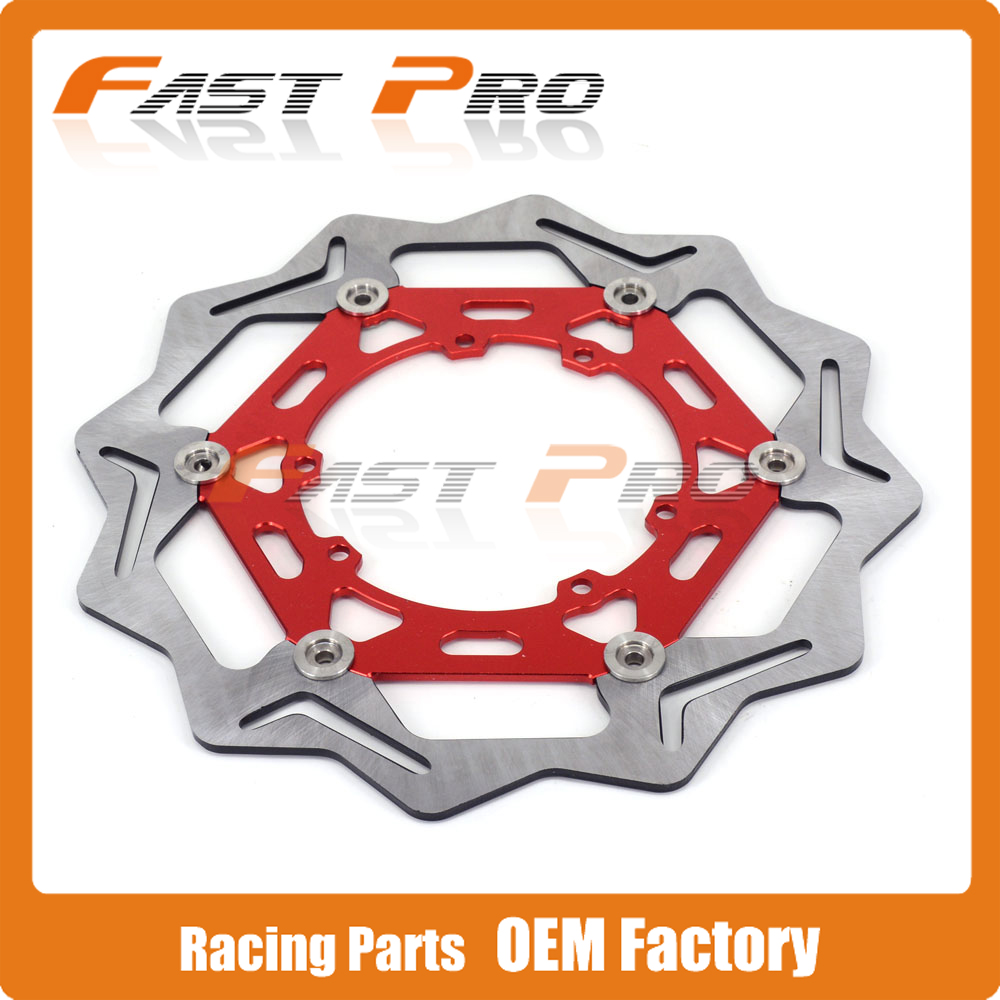 270MM Front Wavy Floating Brake Disc Rotor For CR125 CR250 CRF250R CRF250X CRF450R CRF450X CRF230F CR500 CRF Motorcycle Enduro magnit rmf 2766