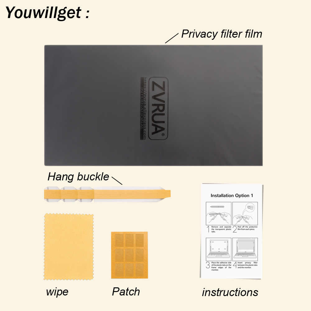 Para apple macbook ar 11 (256mm * 144mm) filtro de privacidade portátil notebook anti-reflexo protetor de tela película protetora