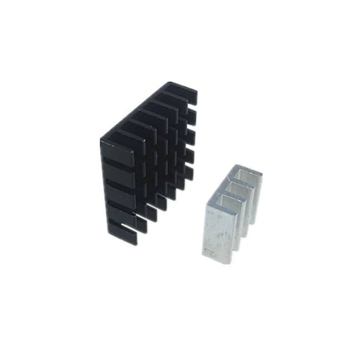 5pcs Parts Alloy Aluminum Heat Sink Heatsink 20*20*6mm/11*11*5.5mm For FPV Transmitter TS5828 TS5828L TS5823 TX526 Receiver