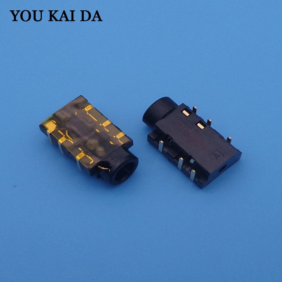 New 6Pin 3.5mm Laptop Audio Port Socket Connector For Asus X550V X550VC X550CC K55VD K550D X550LD Headphone Jack