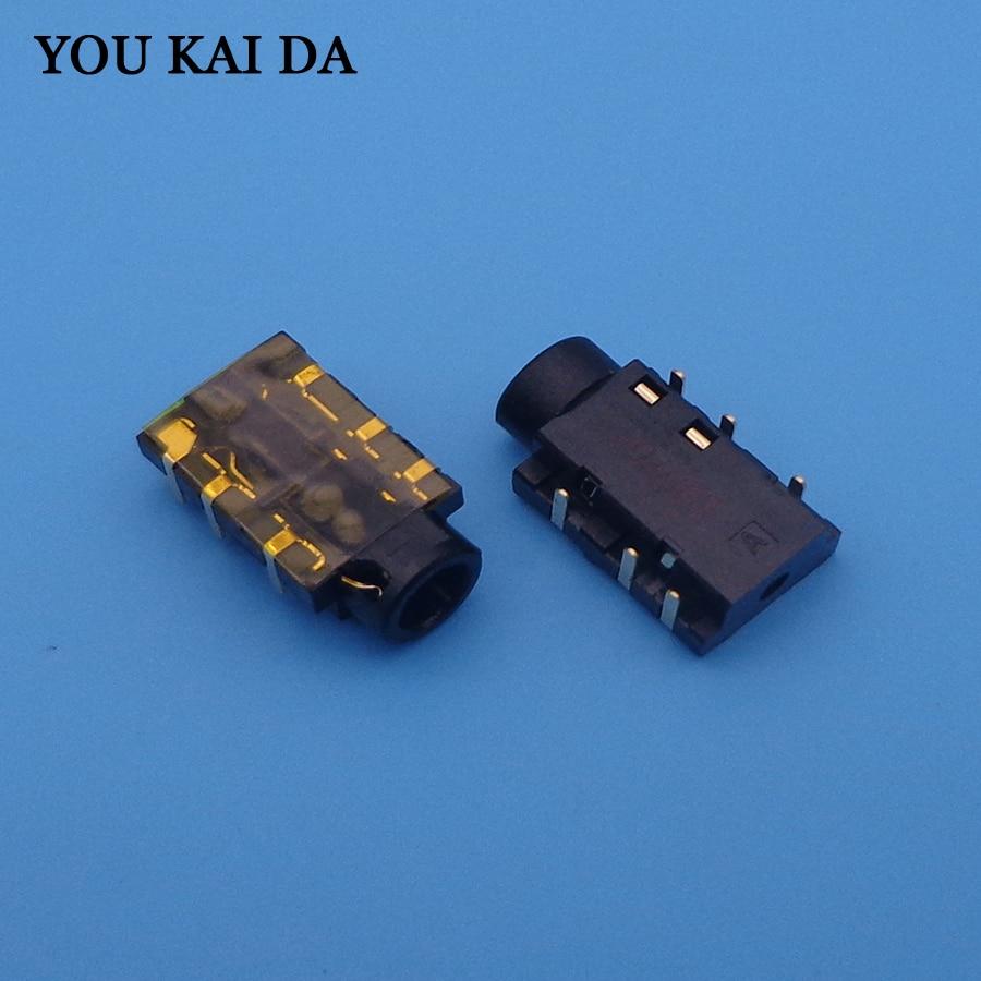 New 6Pin 3.5mm Laptop Audio Port Socket Connector For Asus X550V X550VC X550CC K55VD K550D X550LD Headphone Jack