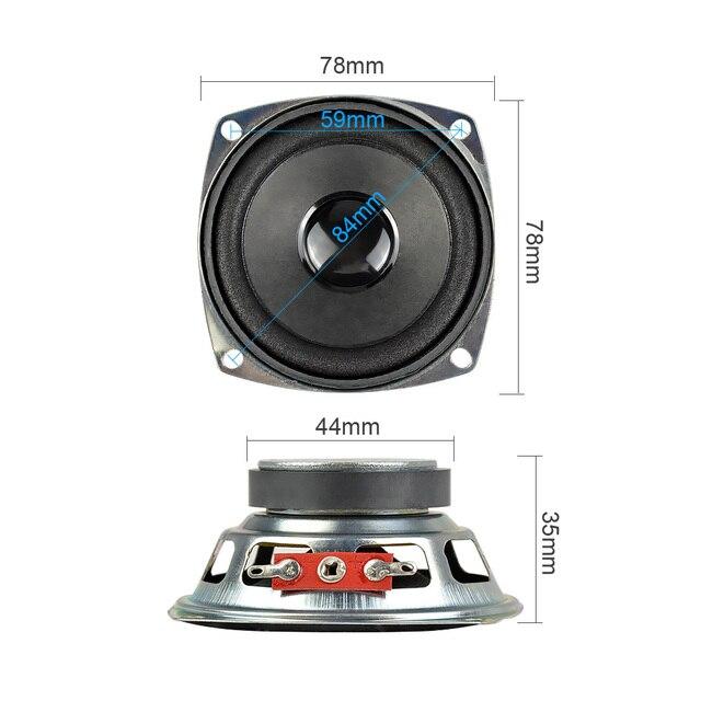 3Inch 77mm Full Range Speakers 4Ohm 5W 4