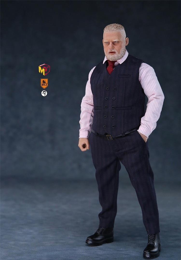 MCCToys Mr.Z 1//6 MCC019B The Big Deal Suit Fat Body Full Set Action Figure