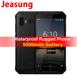 JEASUNG P8 Waterproof 4G Rugged mobile phone ip67 ip68 4G Shockproof  32GB ROM Smartphone 5inch 5000mah Fingerprint   S10