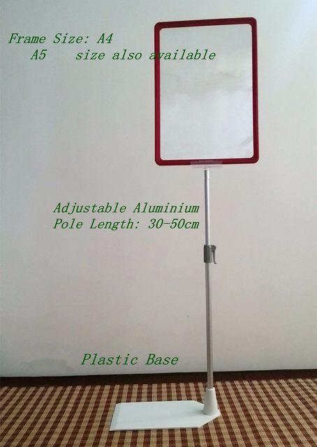 Online Shop POP Supermarket&retail Store Plastic A4 Frame Sign Card ...