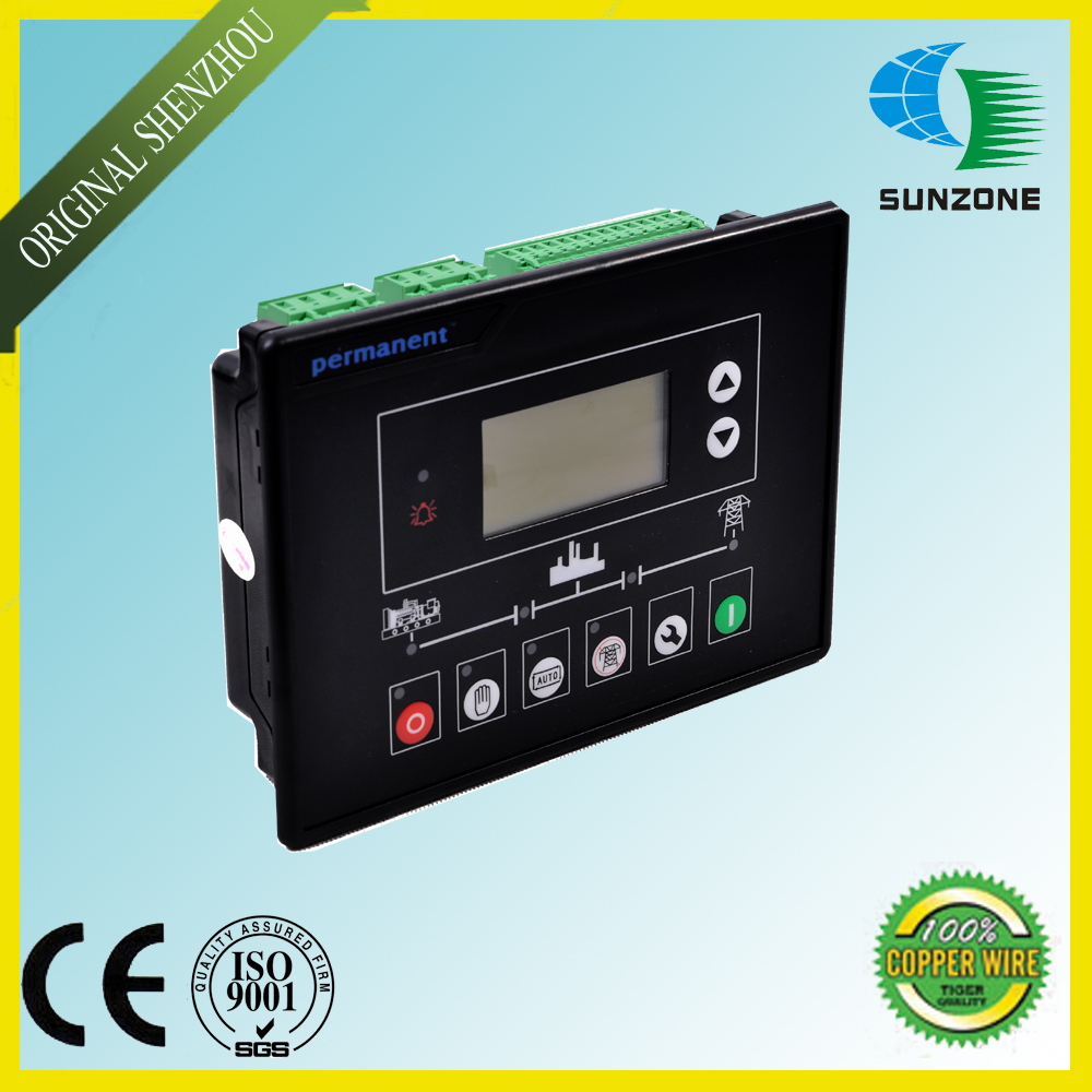 New Genset Control Panel 6120 with AMF(Automatic Mains Failure Module) Generator Controller electronics controller controls module amf unit dse704