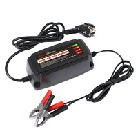 EU Plug 12V 5A Lead Acid Battery Charger Multiple Protect Systems Vehicle Supplies 4 Stage Switching