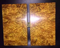 Authentic Ancient Glod Phoebe zhennan of Sichuan with Burl jewelry boxes Jades storage box Wooden Art & Collectibles