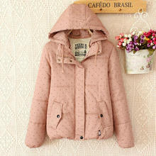 Mori Girl Winter Hoodie Wool Jacket Loose Thicken Cotton Padded Long Jaqueta Femme Brandy Overcoat Lolita Tops