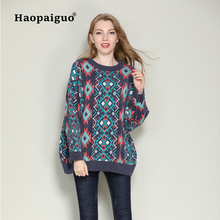 Loose Print Lurex Autumn Winter Sweater Women Long Sleeve Pullover Basic Sweaters 2018 Europe Style Knit Tops Femme