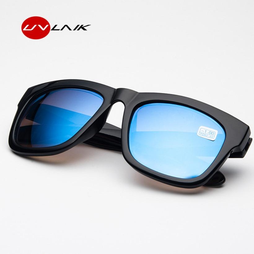 UVLAIK Myopia Sunglasses Men Women Eyewear Short-sighted Sun Glasses Prescription -1.0 -1.5 -2.0 -2.5 -3.0 -3.5 -4.0