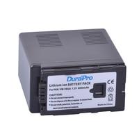 1Pcs 6000mAh VW VBG6 hight capacity Li ion Battery VW VBG6 VWVBG6 Rechargeable Camera Battery For Panasonic HDC Camera series