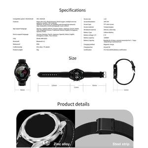 Image 5 - Letine DT28 ECG Monitor De Freqüência Cardíaca Relógio Inteligente de Pagamento Móvel Múltiplos Modos de Esportes de Fitness Rastreador Smartwatch Tela Sensível Ao Toque Completa