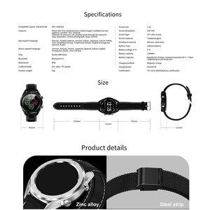 Image 5 - Letine dt28 스마트 시계 모바일 지불 ecg 심박수 모니터 피트니스 트래커 다중 스포츠 모드 전체 화면 터치 smartwatch