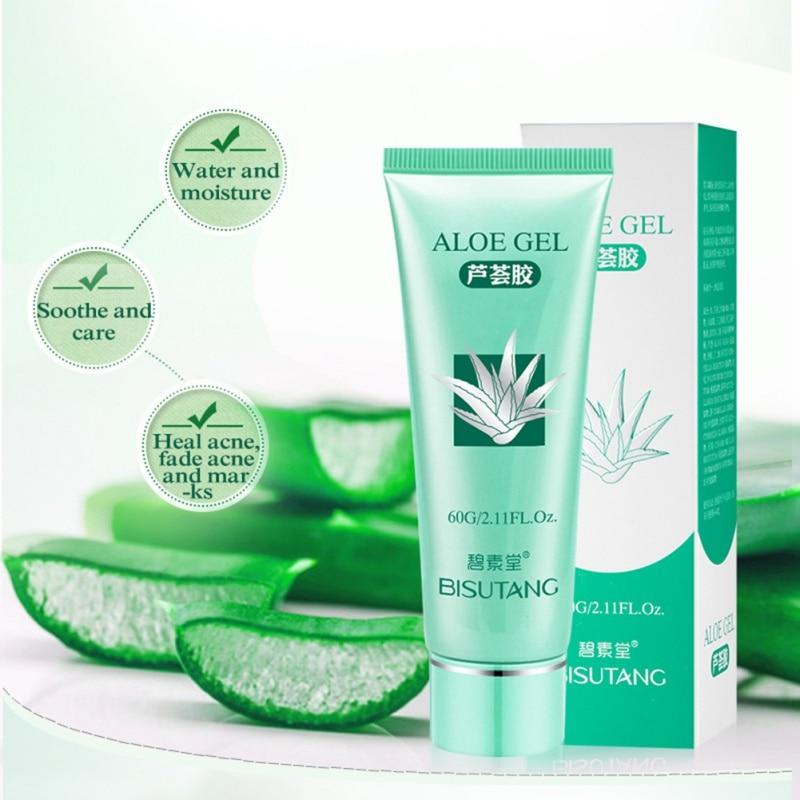 moisturizer whitening 2019 New aloe vera gel anti wrinkle cream acne scar repair drying fa