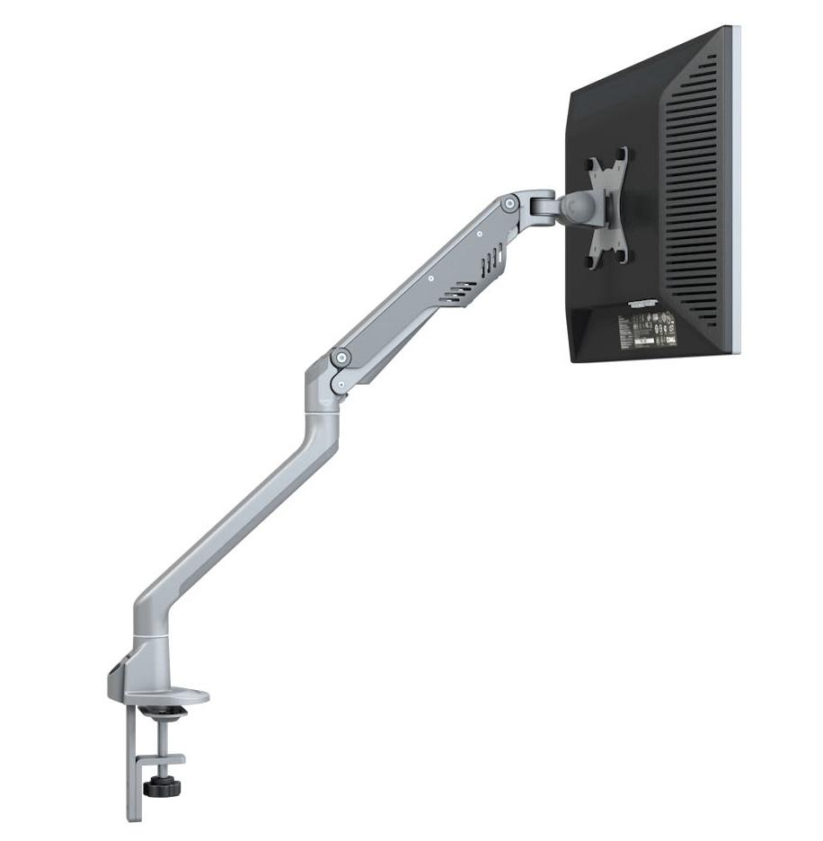 M8 Super Qualité En Aluminium 17 -30 Moniteur Titulaire Montage Huile Gaz Printemps Bras Chargement 2-9kgs Plein Mouvement bureau De Serrage 1-8 cm