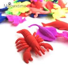 80 шт./компл. случайный морских животных вода бусинами растущего воды-шары гидрогель полимер кристалл почвы для детей игрушка в подарок цветок культивировать