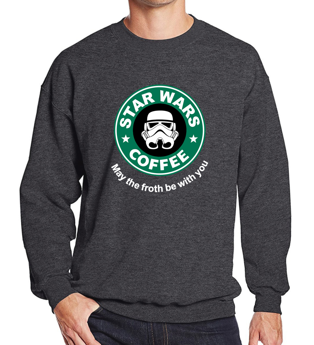 Sweatshirts men 2019 star wars  hoodies funny customized hip-hop pullovers male o-neck top brand tracksuits autumn fleece