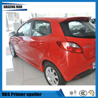 1 Piece ABS Primer Unpainted Color Car Rear Spoiler For Mazda 2 Hatchback Spoile|Spoilers & Wings| |  -