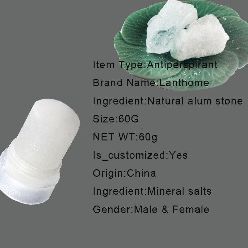 US $10 4 |3 pcs Firstsun Crystal Deodorant Alum Stick Body Odor Remover  Antiperspirant Potassium Alum Stone Stick Twist Top After Shave-in  Deodorants