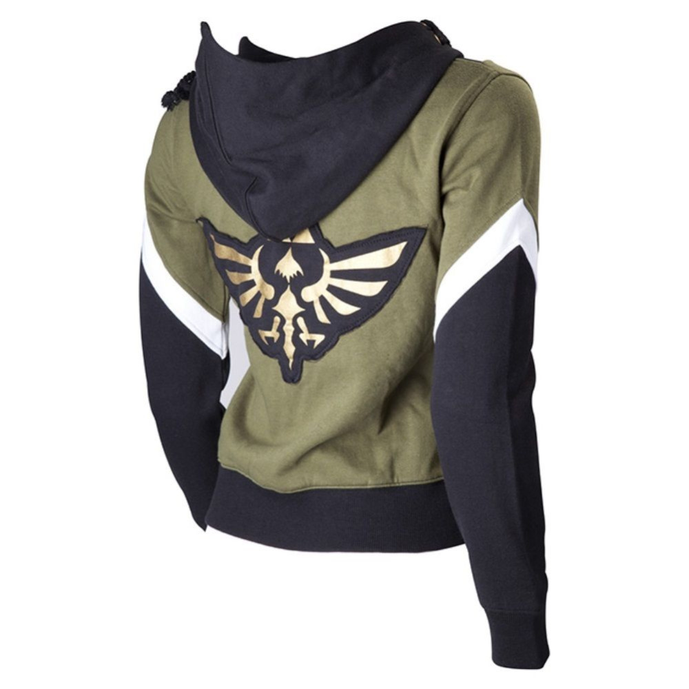 Zelda Hoodie The Legend of Zelda Unisex Coat Cosplay Twilight Princess Hoodies Triforce Sweatshirts Clothing