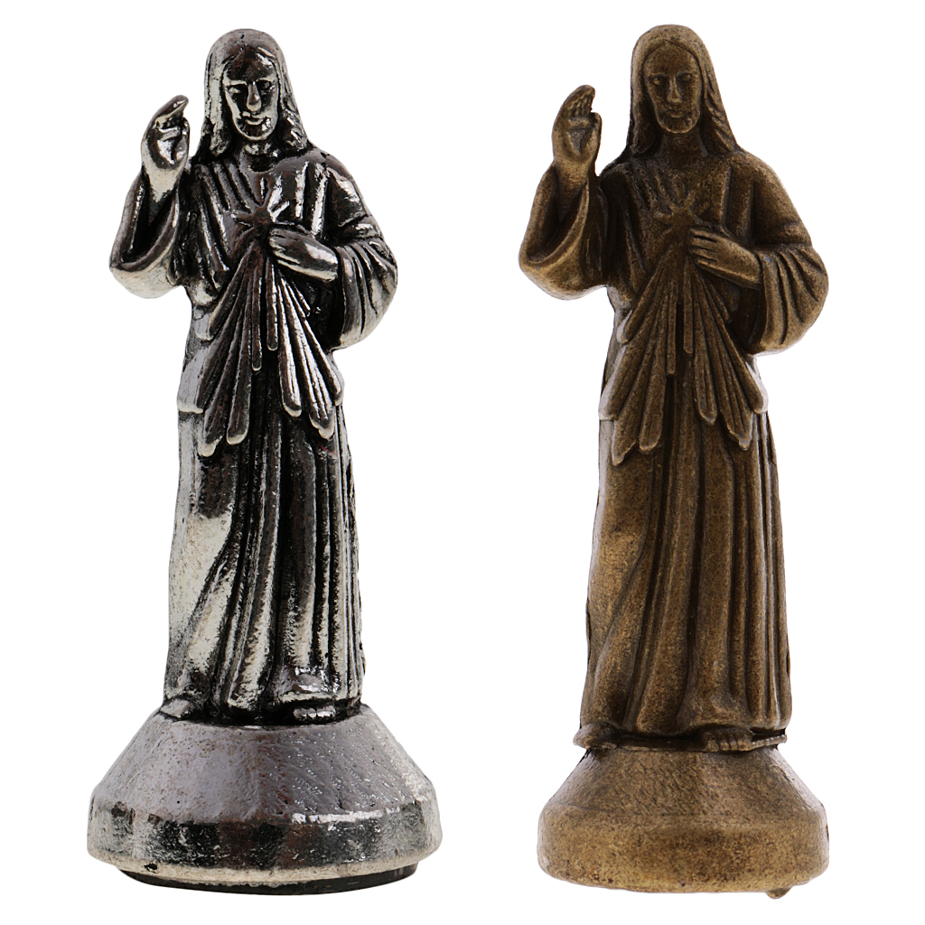 Mini Jesus Holy Religious Figurine Magnetic Decoration Statue Home Decore Figurine Holy Religious Statues