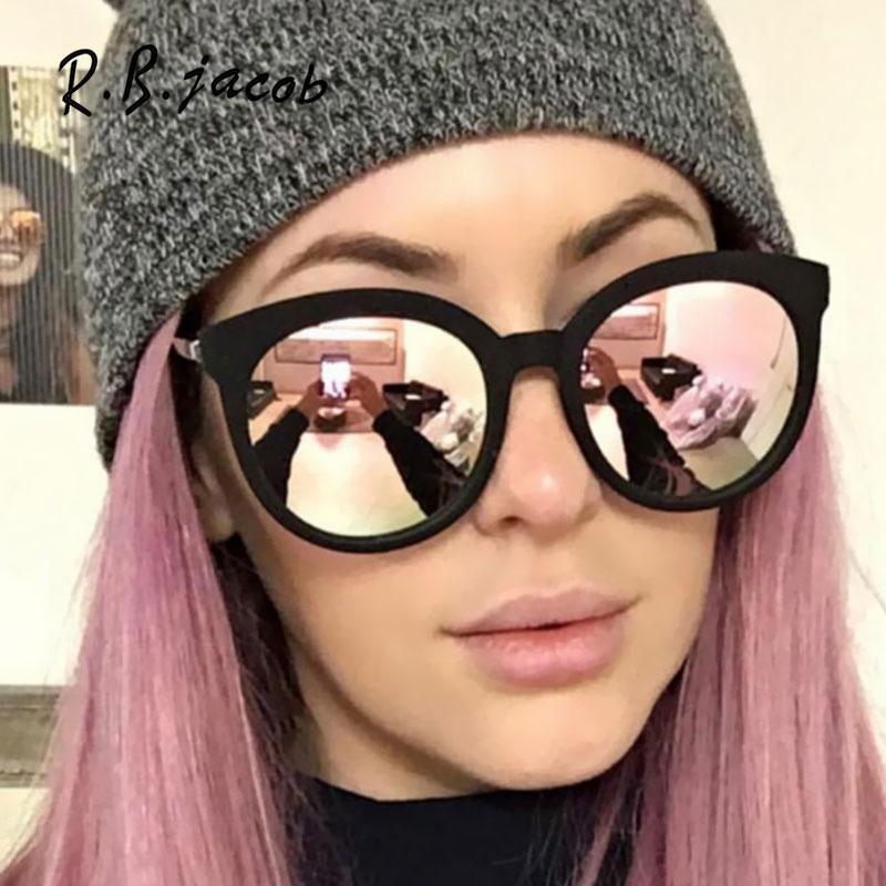 2017 Hot Sale Mirror Women Sunglasses Rainbow Beauty Color Lady Sun Glasses Fashion Hipster Goggle UV400 Vintage Accessory