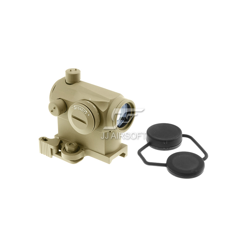 TARGET Micro 1x24 Red Dot with QD Riser Mount (Tan) LT660, LT660HK or LT661 target solar power t1 t 1 red dot with riser mount and low mount tan ipsc hs403c hs503c
