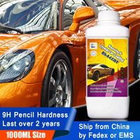 Rising Star RS A CC01 9H Liquid Glass Ceramic Coating Nano Hydrophobic Car Paint Care Nanotehc Crystal Car Coating 1000ml Kit