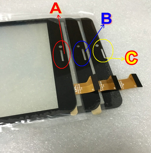 New <font><b>Touch</b></font> Screen panel digitizer glass YJ350FPC-V0 FHX DP080133-F1 XLD808-V0 For 8