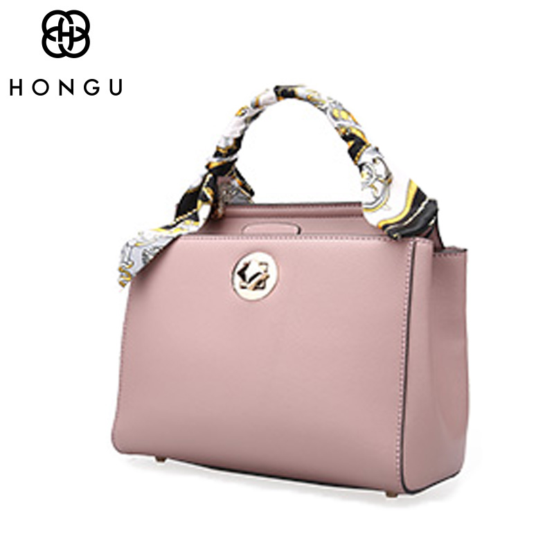 HONGU Fashion Design Cow Leather Bag Elegant Women Messenger Shoulder Chest Bag Iphone Solid Business Bag Storage Shopping Bags ноутбук hp 15 rb011ur amd e2 9000e 1500 mhz 15 6 1366x768 4gb 500gb hdd dvd rw amd radeon r2 wi fi bluetooth windows 10 home