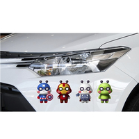 10 X Funny Car Sticker Car Body Decal The Avengers Lovely Decals For Tesla Ford Chevrolet
