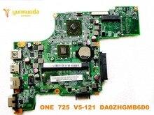 Оригинальный Для ACER V5-121 ное 725 материнская плата для ноутбука один 725 V5-121 DA0ZHGMB6D0 испытанное хорошее Бесплатная доставка