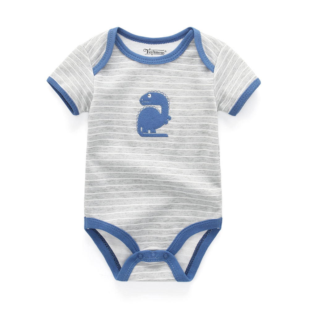 e09630f37a3d4 US $7.49 11% OFF|2019 Fantasia Infantil summer Romper Cartoon animal Baby  Romper cotton baby boy clothing baby winter clothes-in Rompers from Mother  & ...